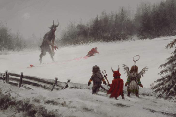 Фото №29 - Зловещая стимпанковская живопись с элементами славянского быта