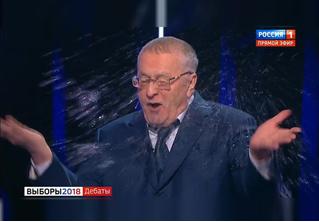 Перепалка Жириновского и Собчак в эфире «России-1». Видео и лучшие шутки!