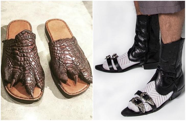 Фото №1 - На что это ты наступил?! 30 пар самой ужасной обуви в мире