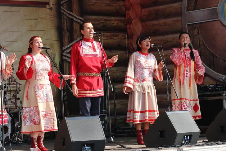 Фото №2 - В Подмосковье прошел Открытый музыкальный фолк-этно-фестиваль «Зарайская слобода — 2018»