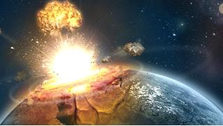 На камеру удалось записать падение метеорита (ВИДЕО)