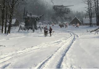 Художник недели: Якуб Розальски и его снежный стимпанк