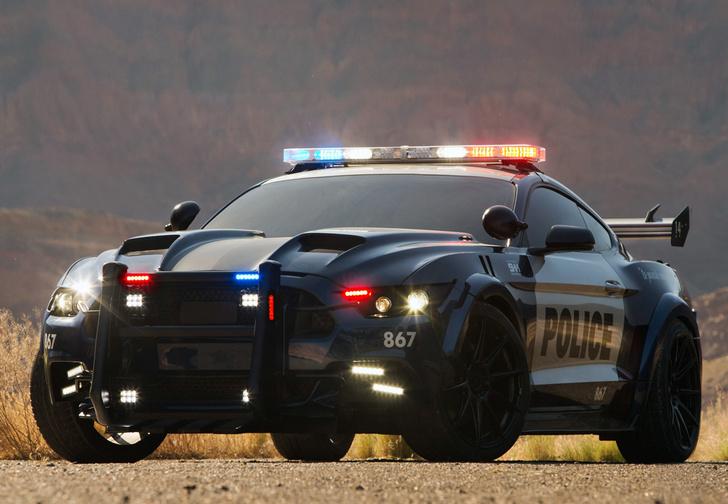 Фото №1 - На пути к Робокопу: Ford запатентовал автономную полицейскую машину