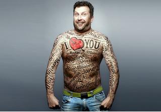Изобретены татуировки, которые будут следить за твоим здоровьем