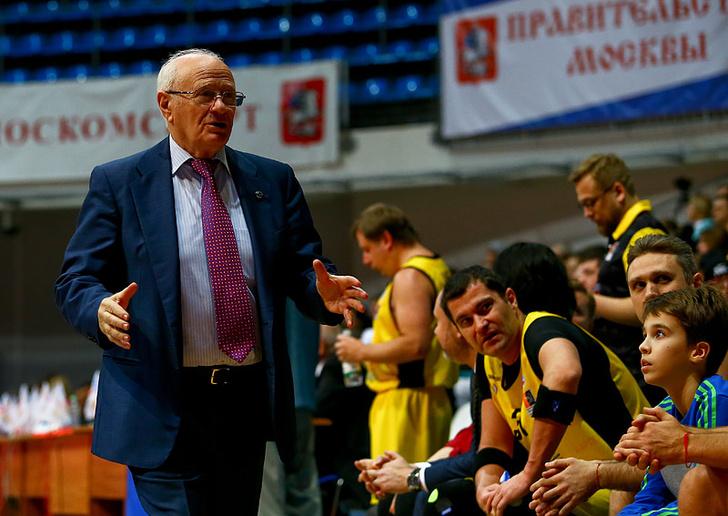 Праздник «День баскетбола» в Крылатском