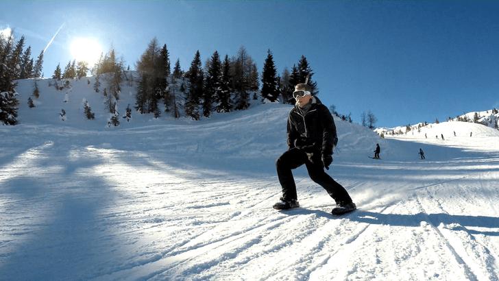 Фото №1 - Как быть лыжником без лыж (ВИДЕО)