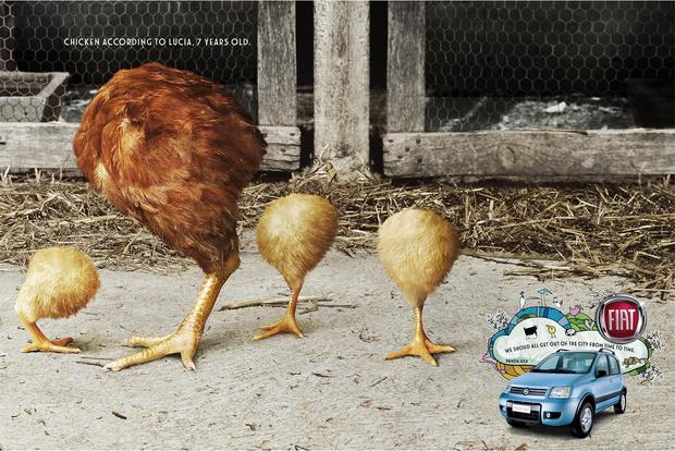 Фото №10 - 15 остроумных рекламных плакатов, которые ты, скорее всего, не видел