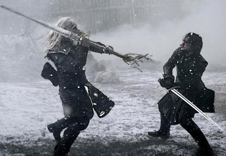 Фото №1 - Король Ночи раскрыл подробности главной битвы финального сезона «Игры престолов»