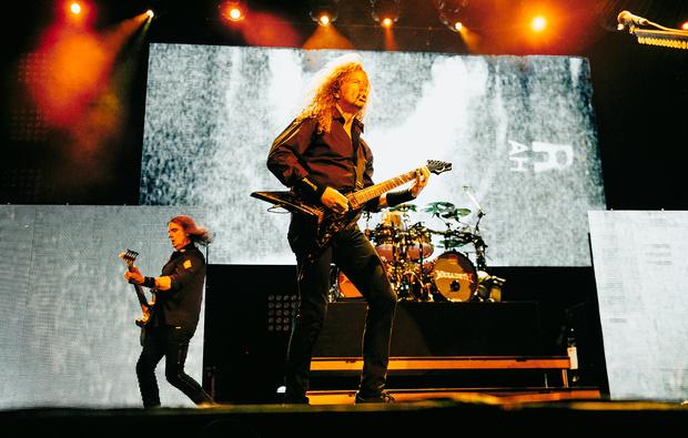 Фото №29 - Megadeth подняли температуру в Москве — посмотри и приобщись!