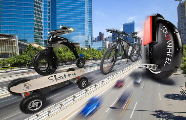 Фото №1 - Оседлай электричество! 4альтернативы велосипеду и скейтборду