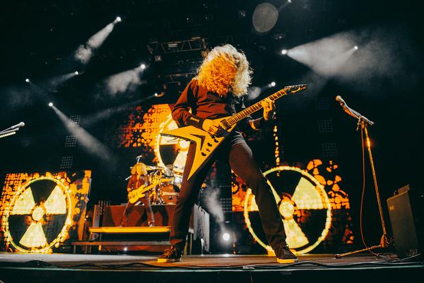 Фото №11 - Megadeth подняли температуру в Москве — посмотри и приобщись!