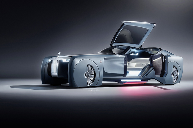 Фото №1 - Rolls-Royce, каким его еще никто никогда не видел!