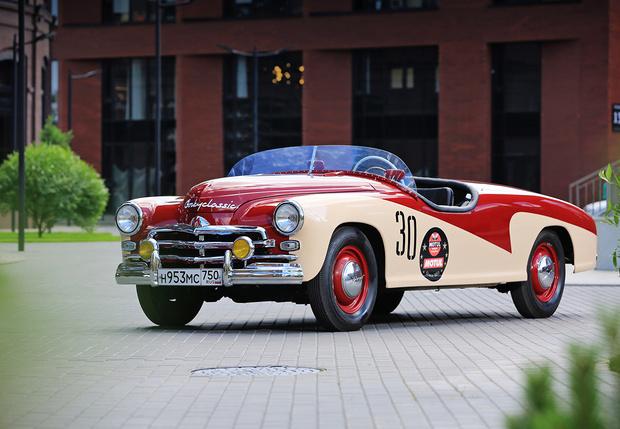 Фото №1 - Краткая история советского гоночного автомобиля «Победа»