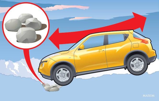 Как легко и непринужденно вытащить автомобиль на твердую почву