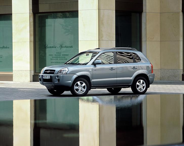 Hyundai Tucson 1-го поколения