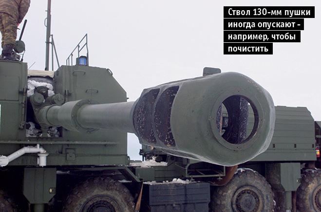 Ствол артиллерийского комплекса
