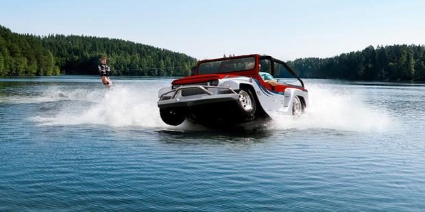 Фото №6 - И поехать, и поплыть: самые странные и успешные попытки создать «лодкомобиль»