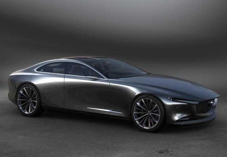 Фото №1 - Концепт-кар Vision Coupe ни на что не намекает…