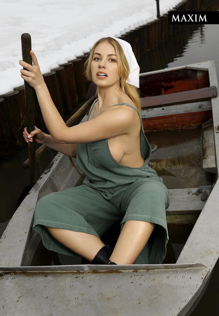 Фото №3 - Отчаянная хозяйка: наша лучшая фотосессия актрисы Олеси Фаттаховой