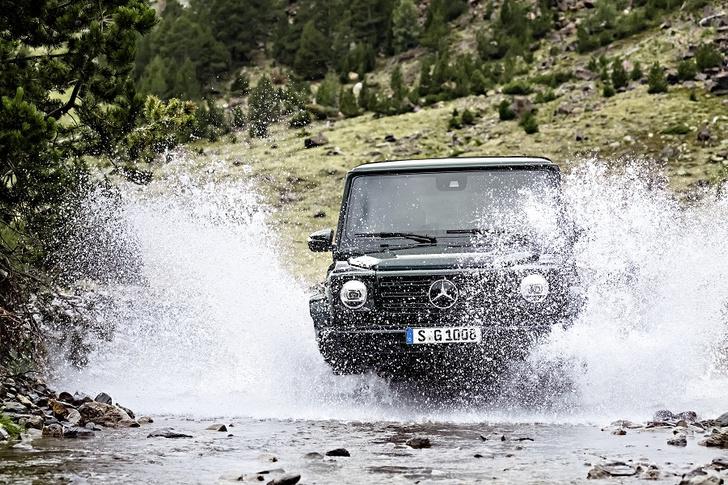 Фото №2 - Внедорожник Mercedes-Benz G-Класса: хорош, как никогда раньше