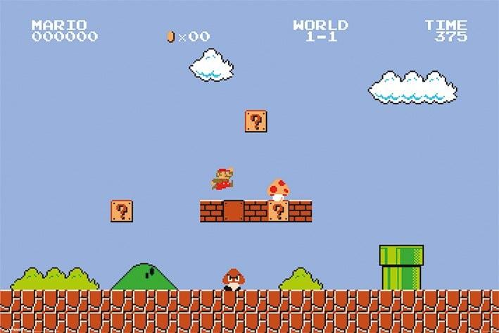 Фото №1 - Побит рекорд прохождения Super Mario Bros.