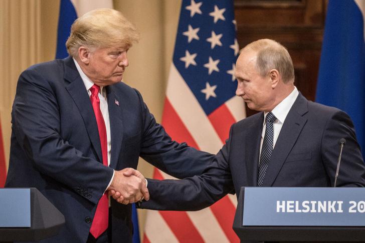 Фото №1 - Как относятся друг другу русские и американцы (данные свежего опроса)