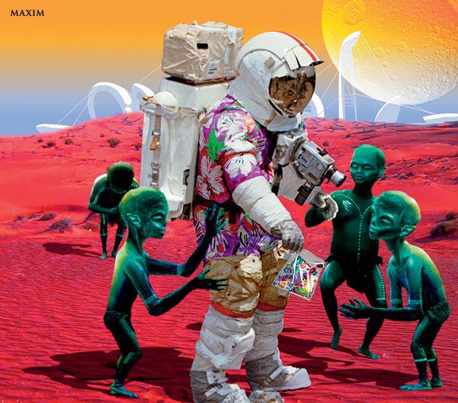 Фото №3 - Если бы мы летали в отпуск на другие планеты