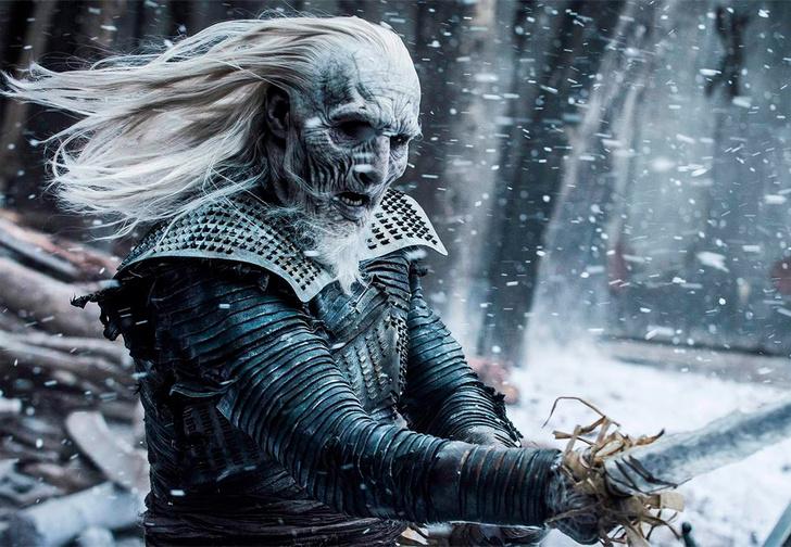 Фото №1 - В Сети появились фото со съемок армии Белых ходоков из «Игры престолов». Похоже, дела плохи!