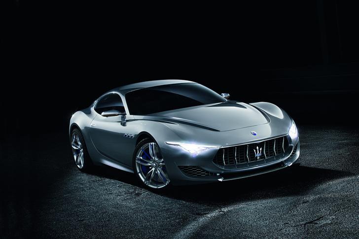 Фото №1 - Новый концепт Maserati - машина, в которой можно курить на большом ходу