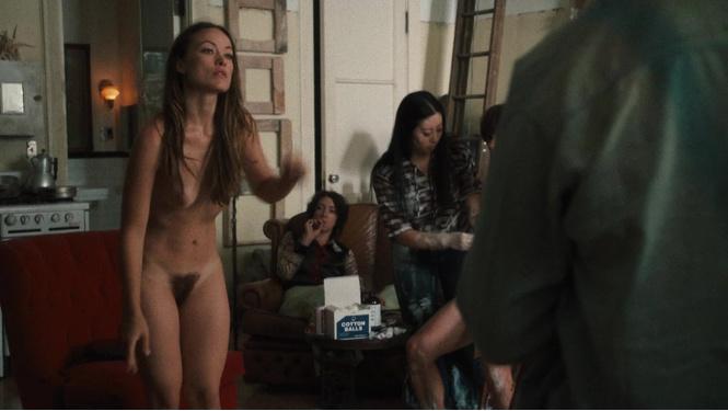 Скромная Оливия Уайлд полностью обнажилась в сериале «Винил»