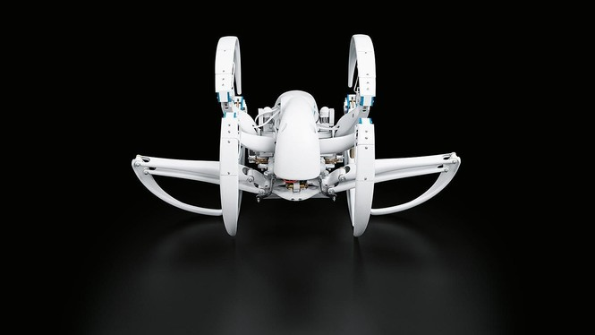 Еще один безумный робот — на этот раз паук (ВИДЕО)