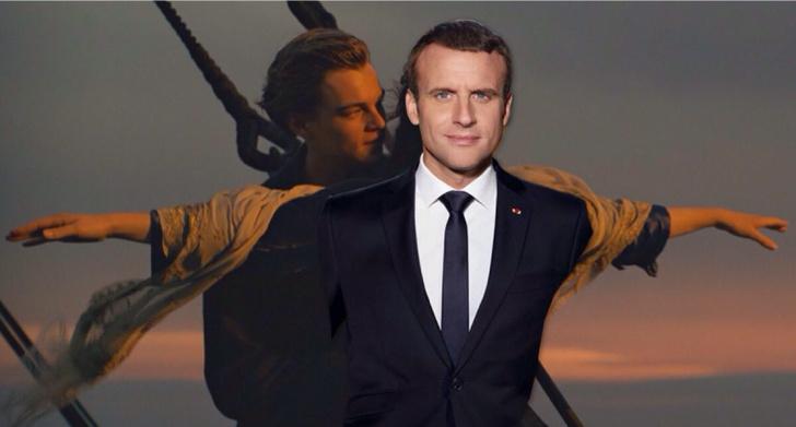 Фото №4 - Лучшие фотожабы на президента Франции Эммануэля Макрона!