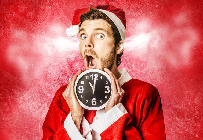 найти новогодний подарок час