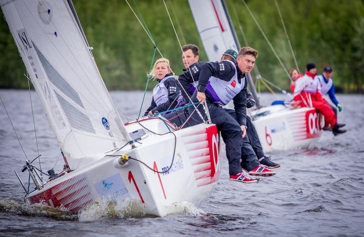 Фото №2 - В Royal Yacht Club прошел третий этап Лиги парусного спорта