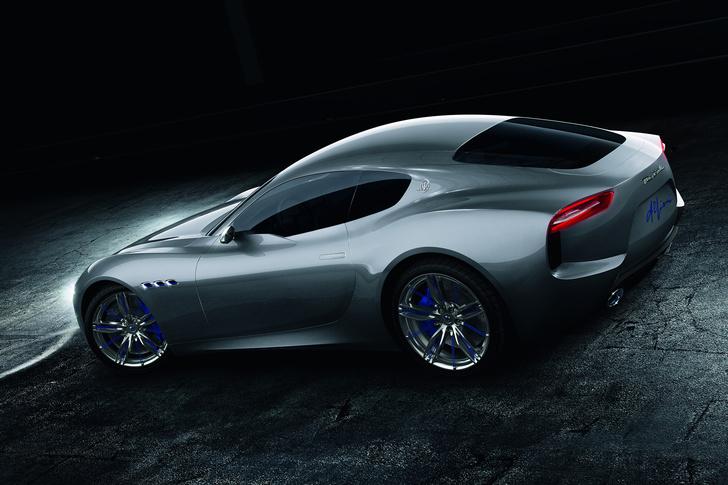 Фото №3 - Новый концепт Maserati - машина, в которой можно курить на большом ходу