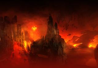 Doom! Ад! Сатана! Дьявольски кровавые и эксклюзивные концепт-арты из грядущего игроужастика