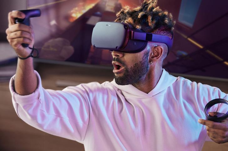 Фото №1 - Oculus анонсировал шлем виртуальной реальности Quest