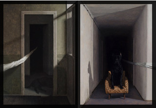 Сумрачные картины Драгана Бибина
