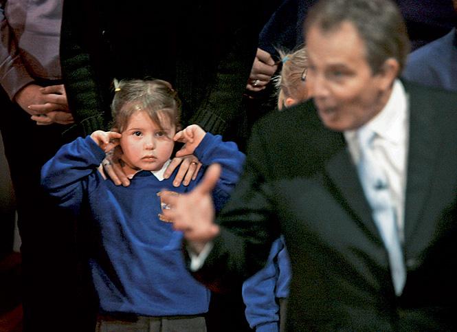 Тони Блэр на съезде Лейбористской партии в 2005 году