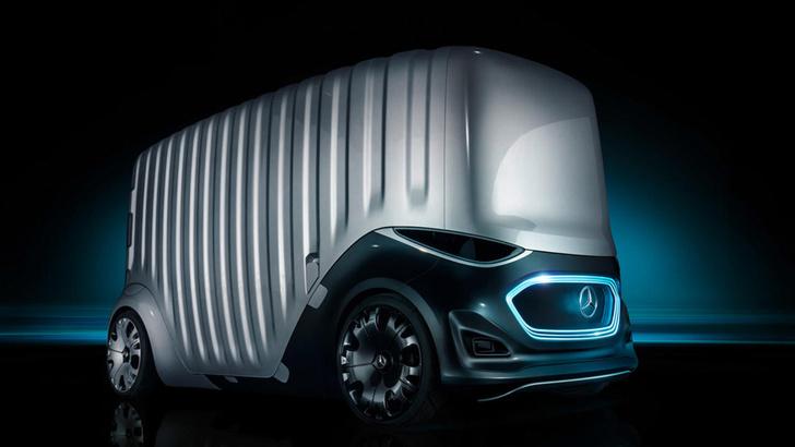 Фото №2 - Mercedes-Benz придумал машину со сменными кузовами