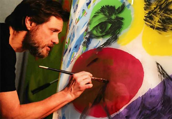 Фото №1 - Джим Керри становится карикатуристом! Полюбуйся на его работы