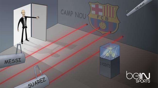 Карикатура к матчу Барселона Реал