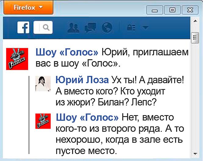 Переписка Юрия Лозы
