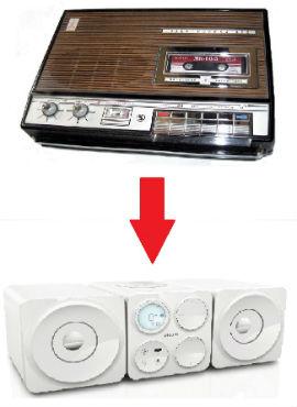 Аудиосистема Philips за фотографию!
