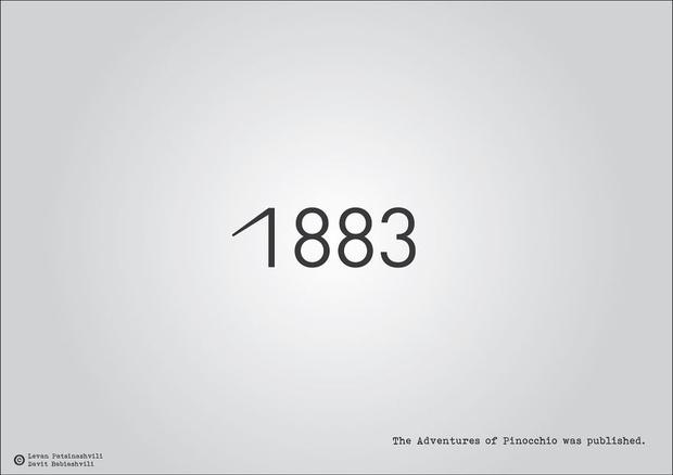 Фото №26 - Исторические даты в минималистичных иллюстрациях
