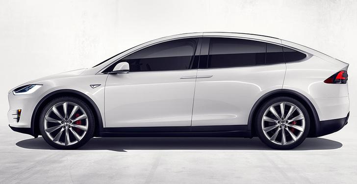 Фото №4 - Tesla показала свой новый кроссовер Tesla Model X