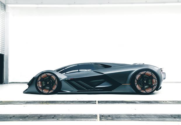Фото №2 - Самый агрессивный концепт-кар от Lamborghini