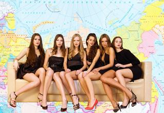 Интерактивная карта, показывающая, где в России больше всего одиноких девушек!