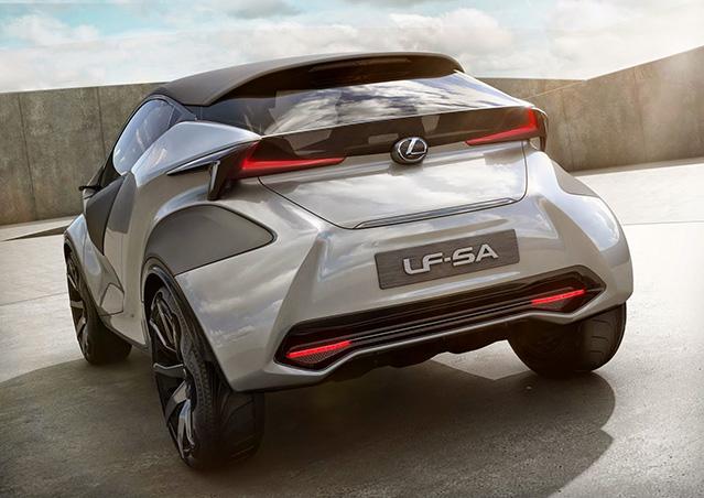 Фото №1 - Концепткар LF SA — превью-версия супермини от Lexus