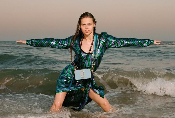 Фото №1 - Украинская балерина снялась в рекламной кампании марки Marc Jacobs в Одессе